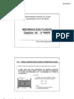 MECÂNICA DOS FLUIDOS - Capitulo 02 - 2a Parte