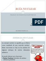 ENERGÍA NUCLEAR diapositivas