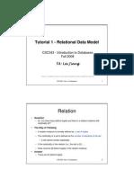 t1 Relational Model