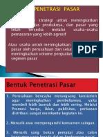 PENETRASI PASAR