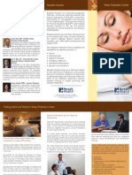 NH Sleep Center Brochure