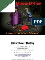 Zombie Murder Mystery