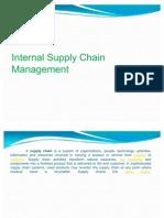 Internal Supply Chain Mgt