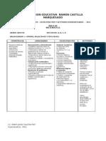 Cartel de des y Conocimientos 2011 Rcm 5to a Incluye Rm