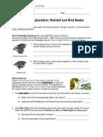 Finch Beak Handout