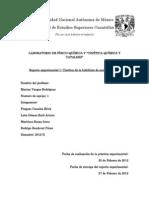 Reporte 1 Fisicoquímica V, 2012-II casi completo
