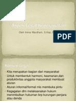 Aspek Legal Keperawatan