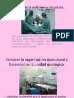 Acciones de La Enfermera Circulante