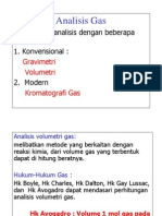 Analisis Gas
