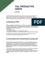 ion de Diferencia Las Etapas de La Implemetacion Del TPM