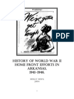 WWII Arkansas Home Front History