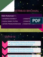 KELOMPOK 1-Dstribusi Binomial