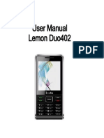 Lemon Duo 402 User Manual