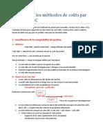 chap 6 - Le coût objectif et l'analyse de la valeur
