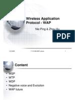 WAP Presentation Ver2