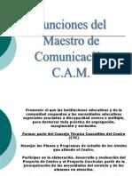 Funciones Mtro. Comunic CAM