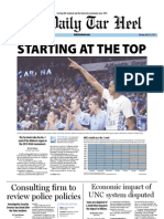 The Daily Tar Heel for March 12, 2012