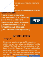 History of Ancient Egyptian Landscape Architecture