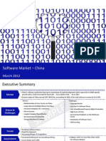 Market Research Report :Software Market in China 2012