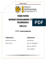 Online Examination Tp