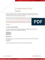 How to Pass the Google Analytics Iq Test Guide