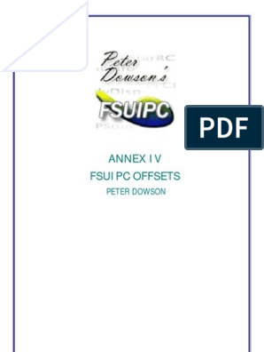 Offsets Fsuipc | Airspeed | Integer (Computer Science)
