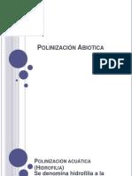 Polinización Abiotica