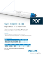 Philips EnduraLED T8 Tube LED Light Installation Guide