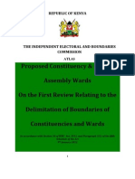 IEBC - Atlas of the Proposed Constituency & County Assembly Wards