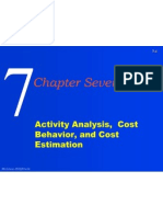 Activity Analysis, Cost Behavior, And Cost Estimation 2