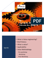 Value Engineering POM