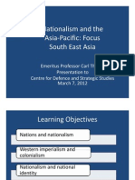 Thayer Nationalism in the Asia Pacific