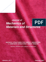 Bistable Structures for Energy Absorption