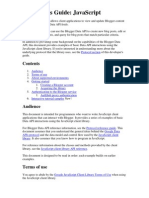 Developer Guide - Javascript