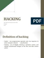 Task 1 - Hacking
