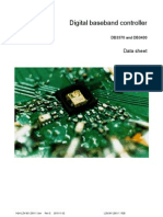 1424-LZN9012501 1 Digital Baseband Controller DB3370 DB3430 DATA SHEET Rev G