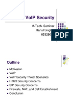 MTech Seminar VoIP Security Presentation