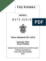 Modul Mahasiswa BMD 2012