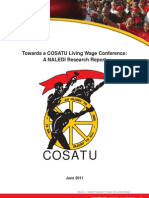 Naledi Research Paper - Towards a COSATU Living Wage