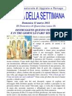 Agenda 11 Marzo 2012 Bis