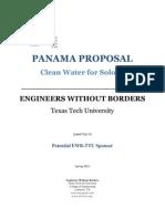 ewb spring 2012 proposal packet