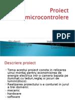 Proiect Micro Control Ere Cosmin Turenschi