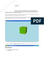 WPF 3D Solid Wireframe Transform