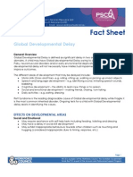Global Developmental Delay
