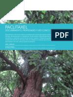 Paclitaxel, descubrimiento propiedades y uso clínico