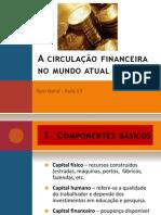 A Circulação Financeira no Mundo Actual
