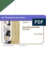 2 Accounting Principles & Rules