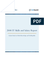 2008 IT Salary and Skills Report