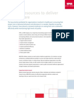 SPSS Healthcare Brief