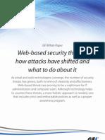 Web-based security threats
